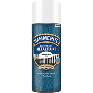 Hammerslag Hvit 400 ml Spray