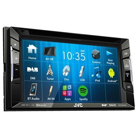 JVC DAB+ radio med Bluetooth leveres komplett med alt utstyr